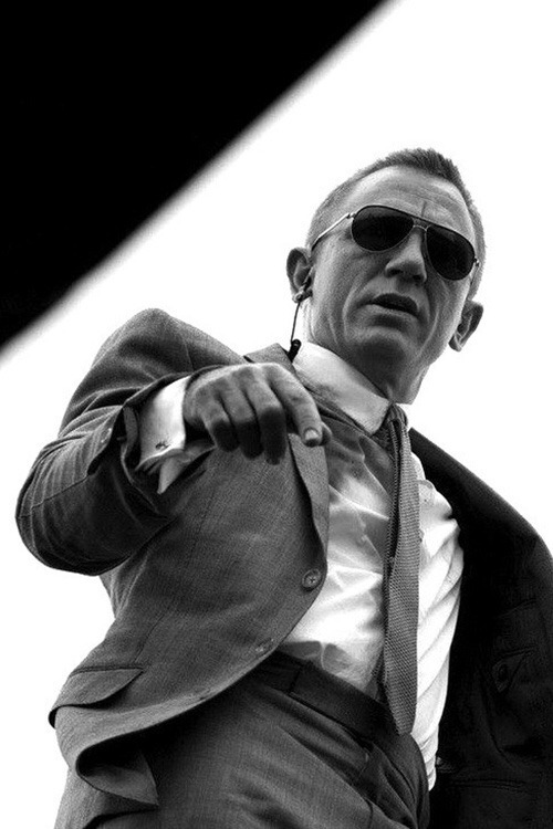 The James Bond suit by Tom Ford