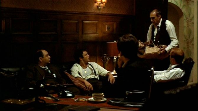 Luca Brasi Sleeps with the Fishes in The Godfather 1972