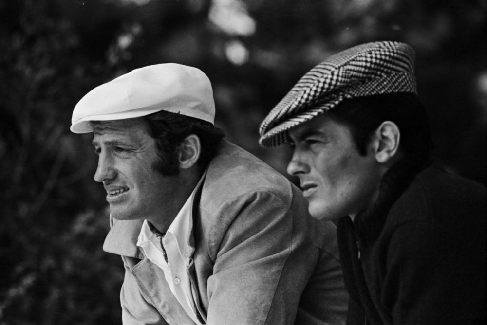 jean paul belmondo-and-.alain delon