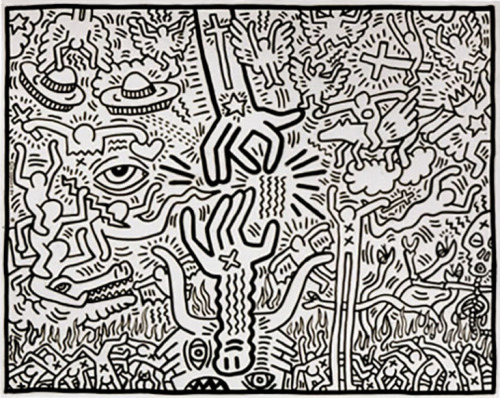 Keith Haring  The Marriage of Heaven and Hell