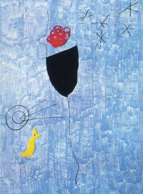 Tirador in the Arc, 1927 – Joan Miro