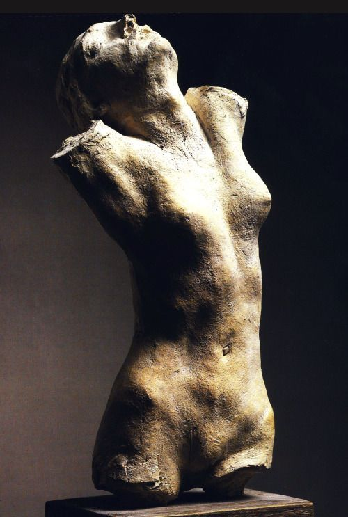 Auguste Rodin – Torso of the Centauress, c .