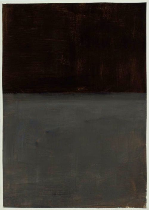 Mark rothko    Untitled  brown and gray