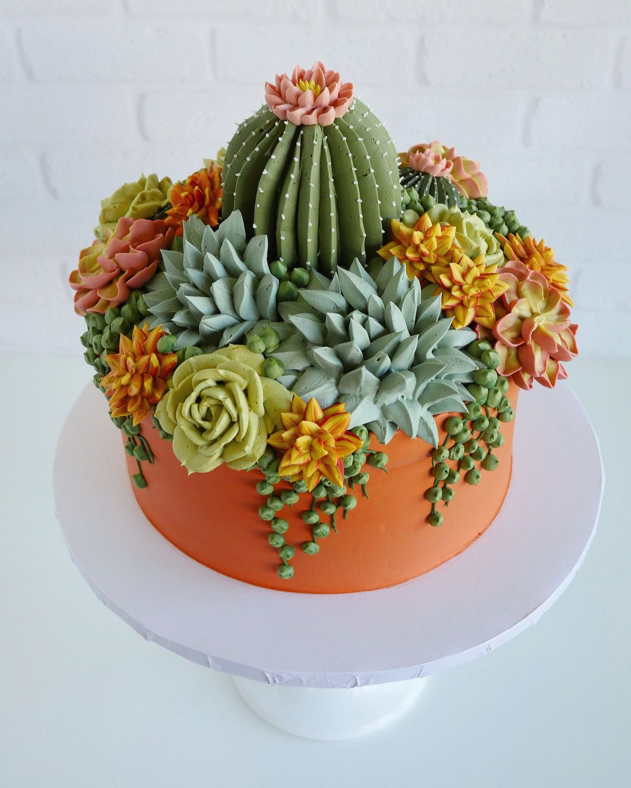 Buttercream Succulent