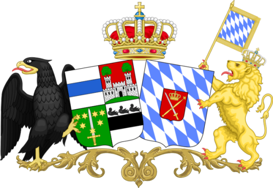Coat of Arms of Amelia of Bavaria
