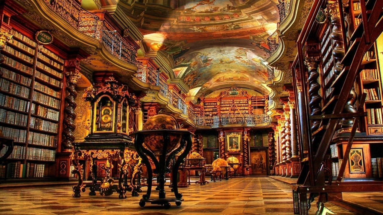 St. Florian Abbey Library
