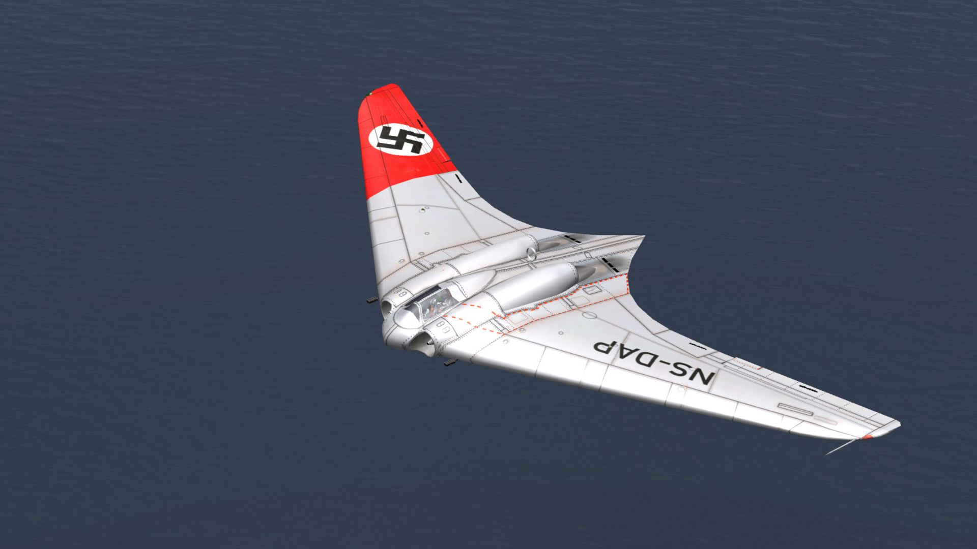 flying wing third reich