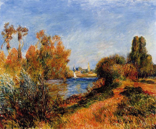 The Seine at Argenteuil, Pierre-Auguste renoir