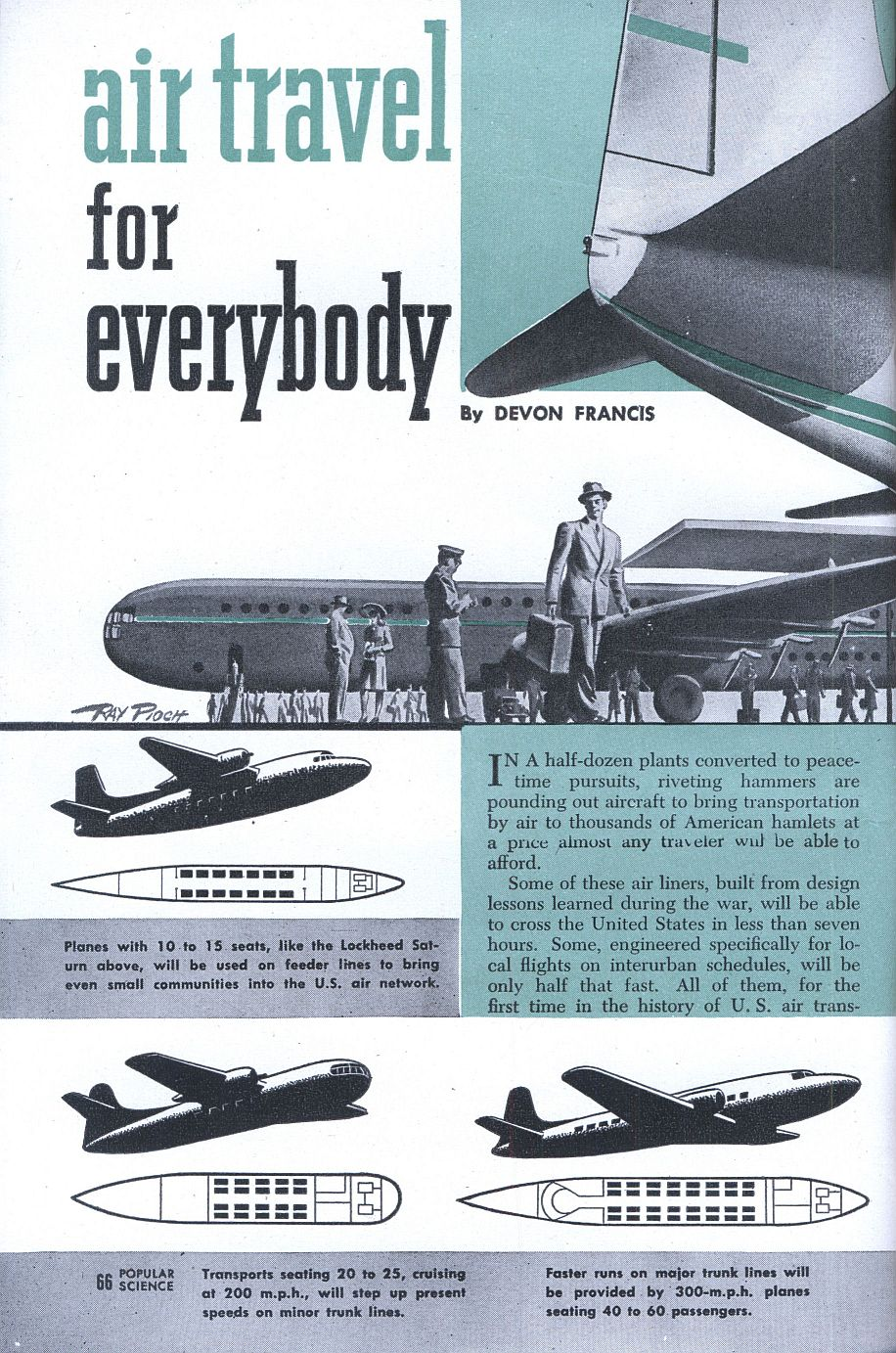 1946 airtravel for everybody