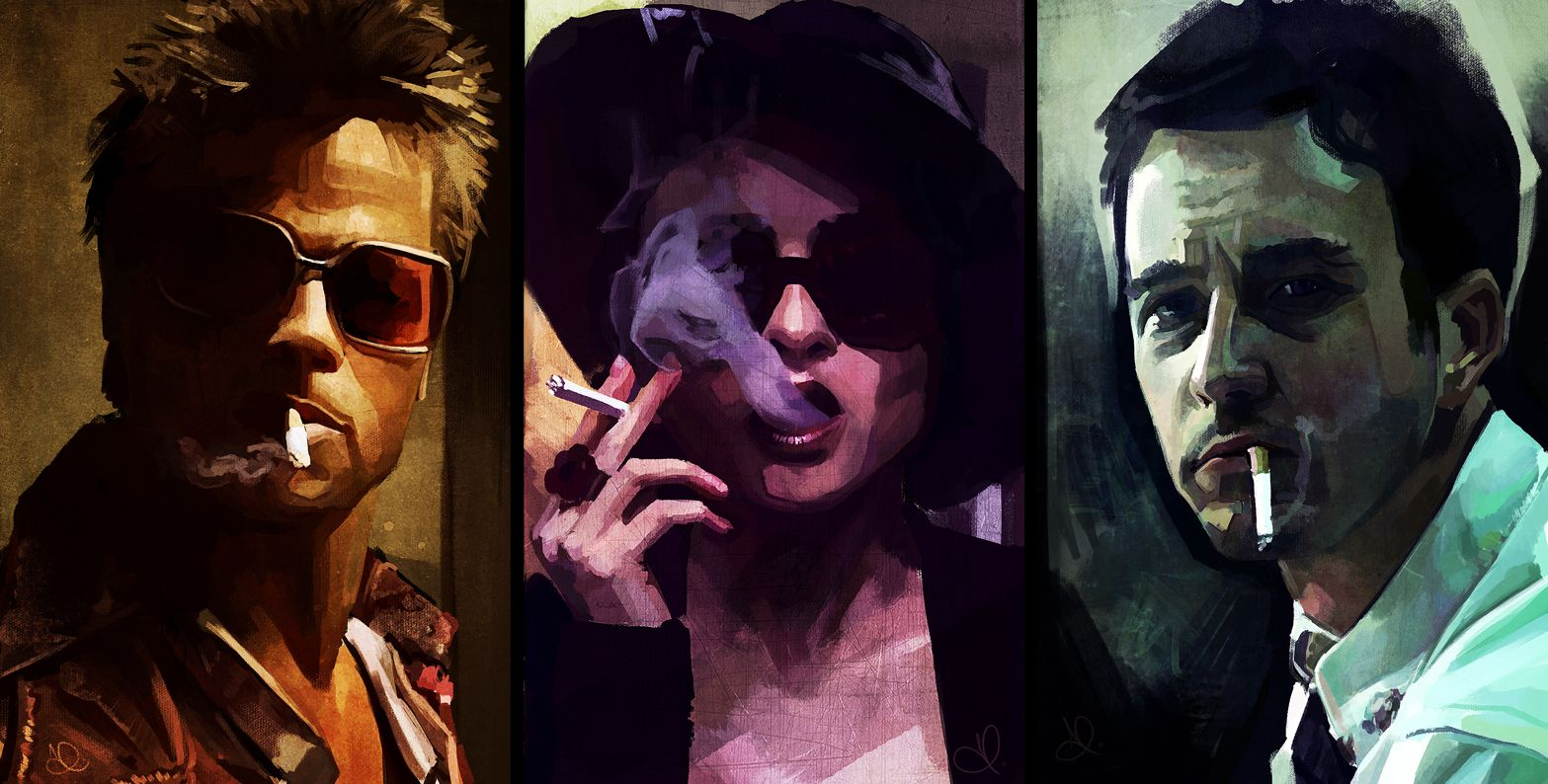 Art for the Fight Club movie