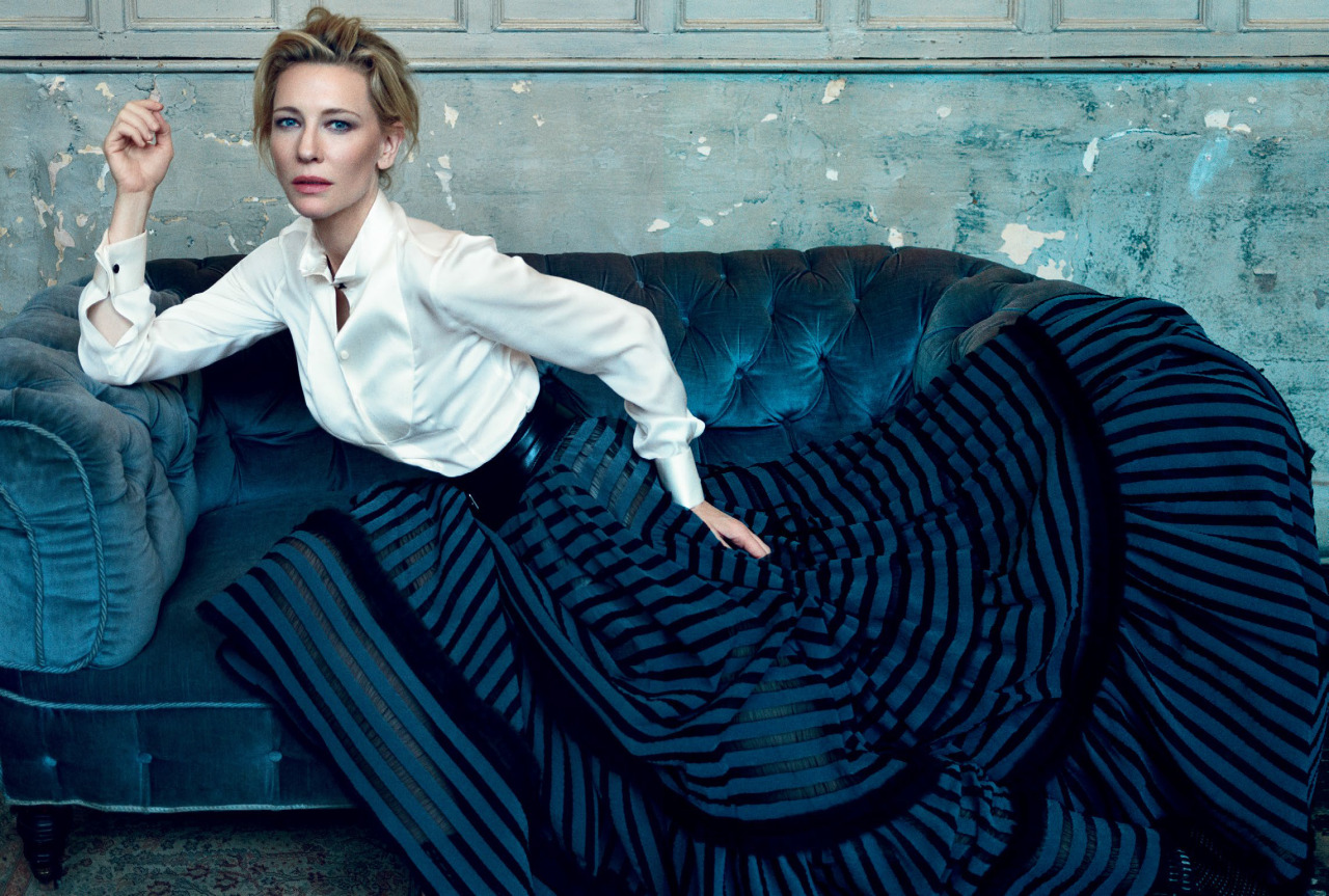 Cate Blanchett by Norman Jean Roy