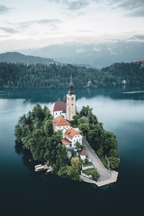 Lake Bled by Manuel Dietrich