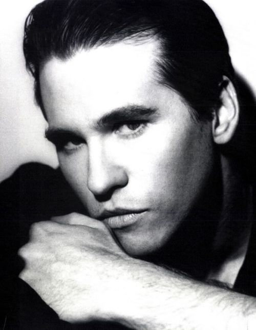 Val Kilmer young in the 1980′s