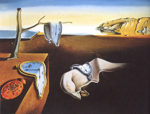 dali-  The Persistence of Memory, Salvador Dali