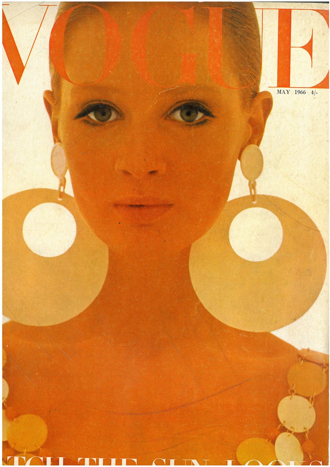 david bailey for vogue in the year 1966