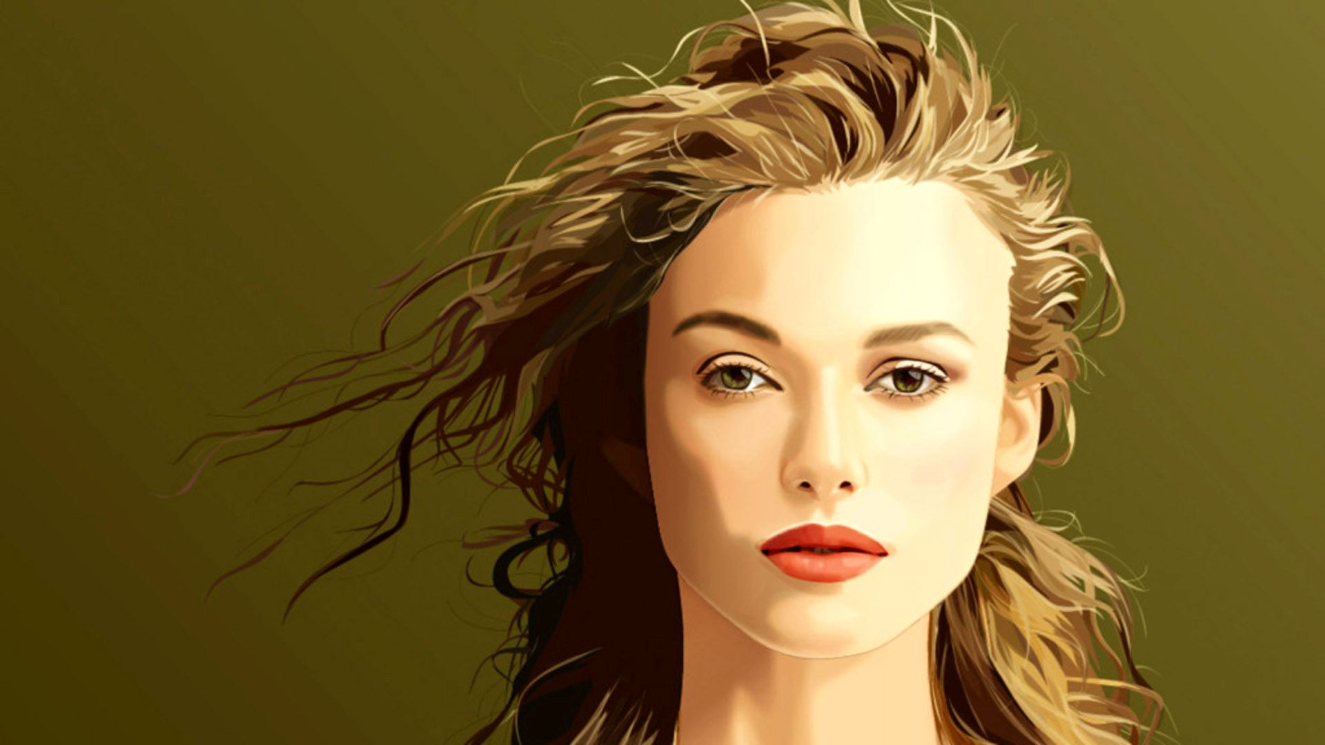 keira knightley vector