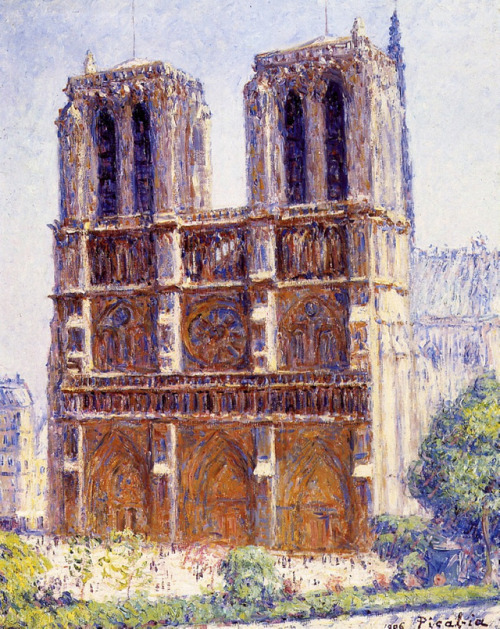 Notre Dame, the Effect of Sunlight, Francis Picabia