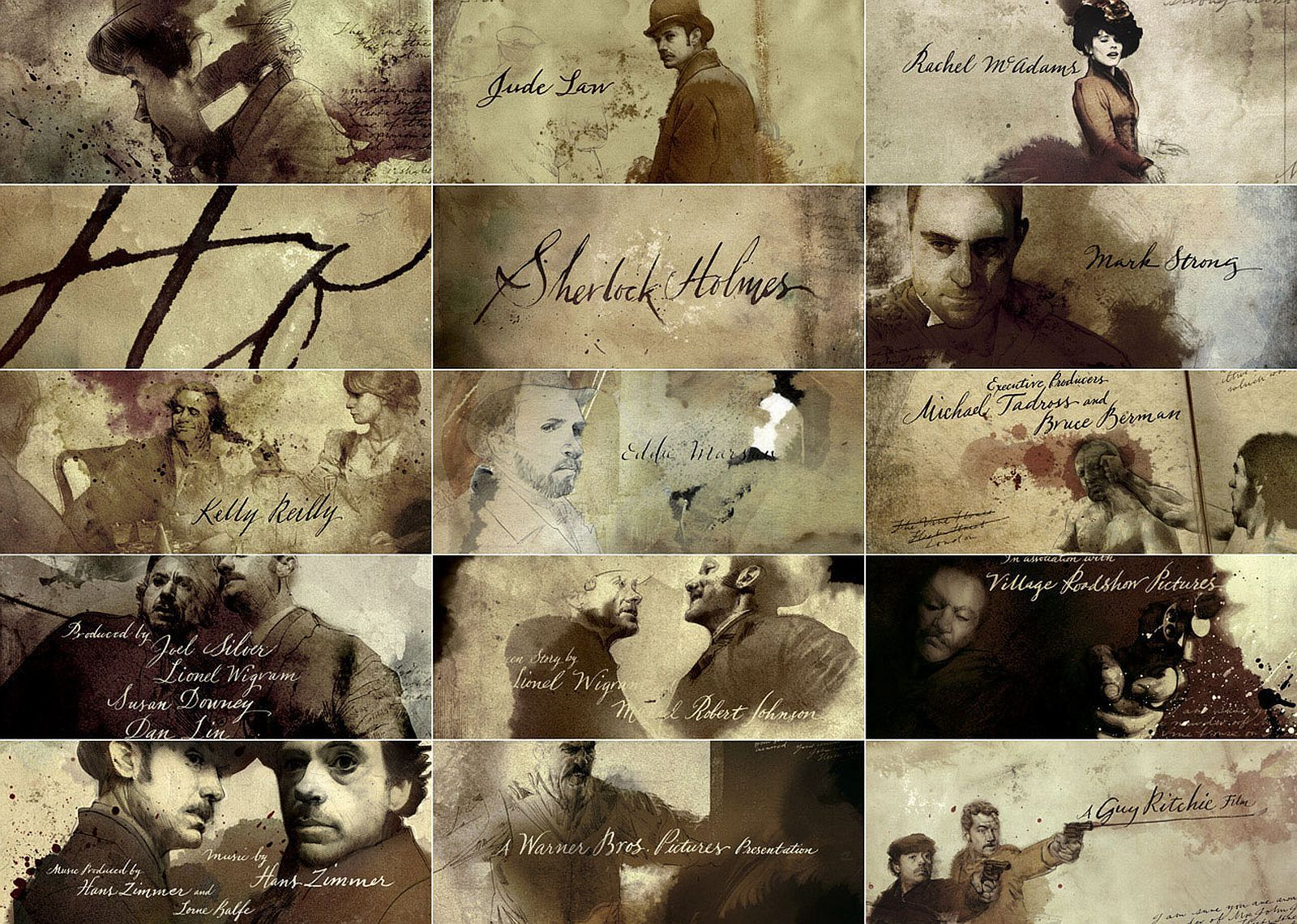 sherlock holmes credit sequence by prologue