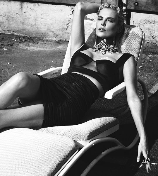 Charlize Theron by Mert Alas and Marcus Piggott