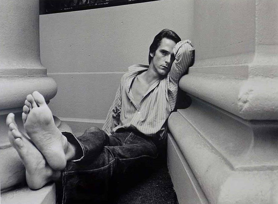 Jeremy Irons by Duane Michals