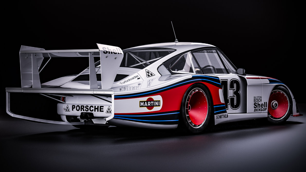 Martini Racing Porsche 935 moby dick