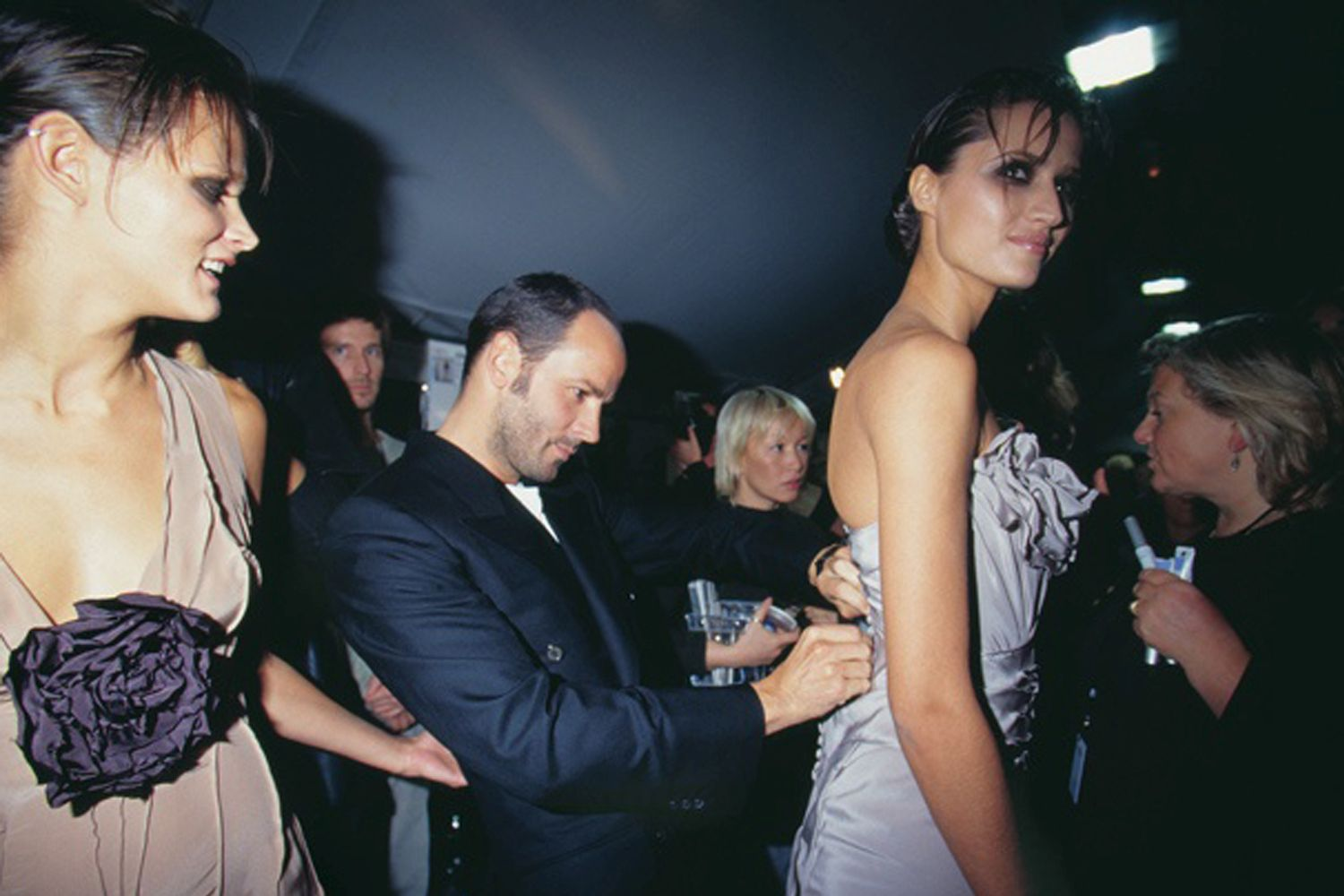 Tom Ford Gucci, Gucci backstage