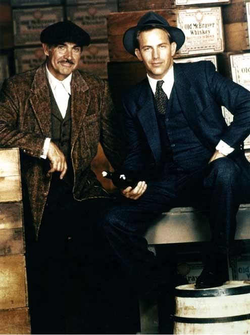the untouchables with sean connery & kevin costner