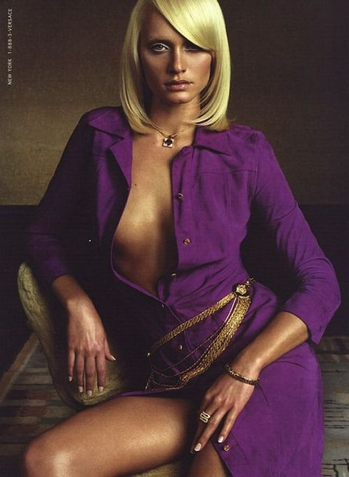 Amber Valletta for Versace