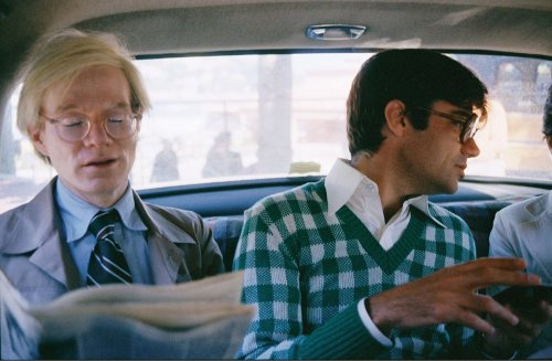 Andy Warhol and Rex Reed in Monaco