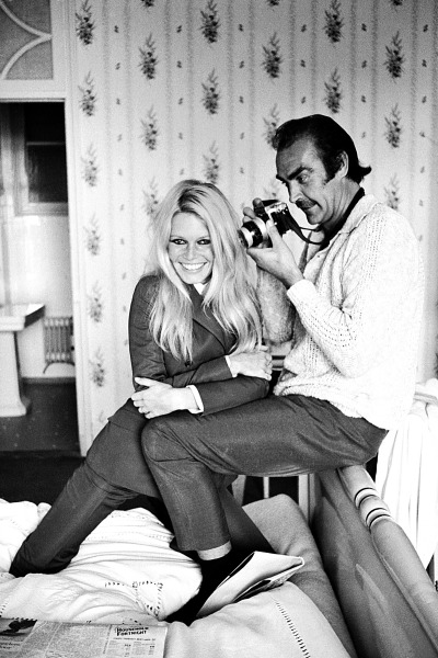 Brigitte Bardot and Sean Connery photographed by Terry O