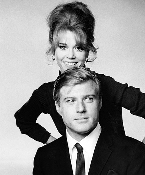 Jane Fonda and Robert Redford for Barefoot in the Park