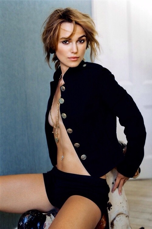 Keira Knightley for interview magazine