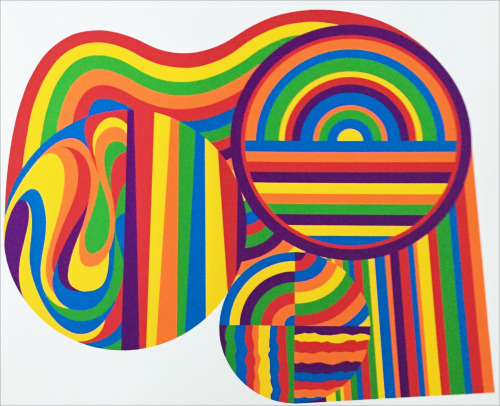 Sol LeWitt – Arcs and Bands in Color, 1999.