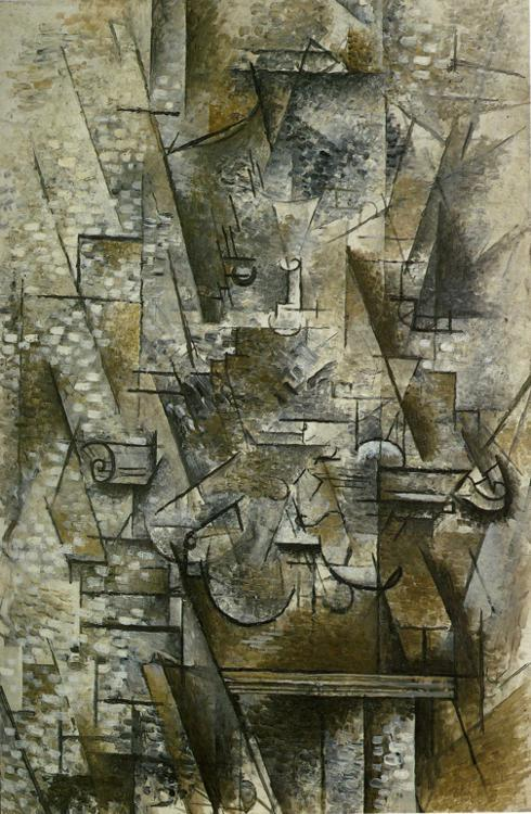 Still Life with a Violin, Georges Braque