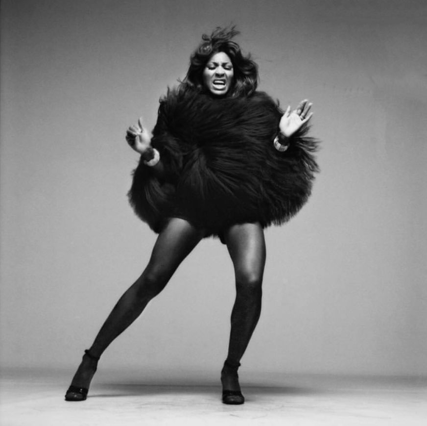 Tina Turner by Richard Avedon