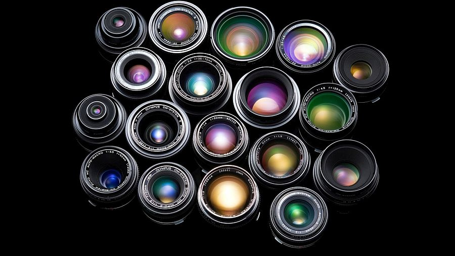 5 Common Types of Camera Lenses