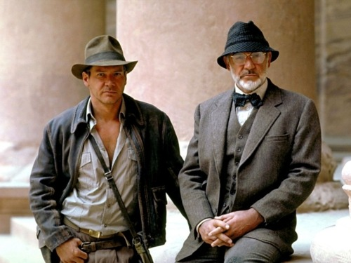 indiana jones, sean connery, harrison ford