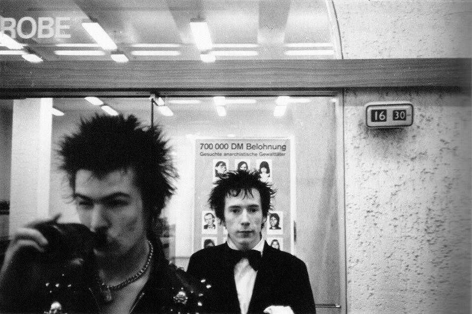 Sid and Johnny, Berlin, 1977