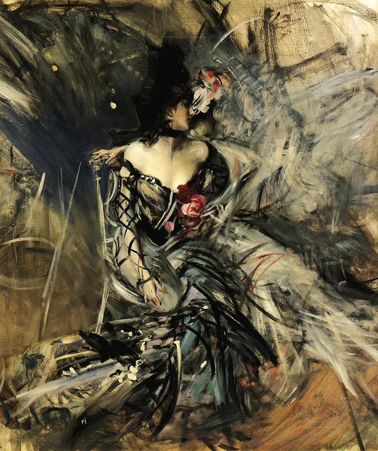 Spanish Dancer at the Moulin Rouge, 1905 Giovanni Boldini