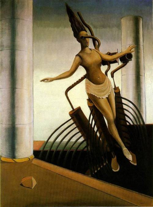 The wavering woman, Max Ernst