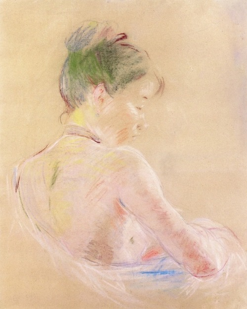 Berthe Morisot Girl with Bare Shoulders