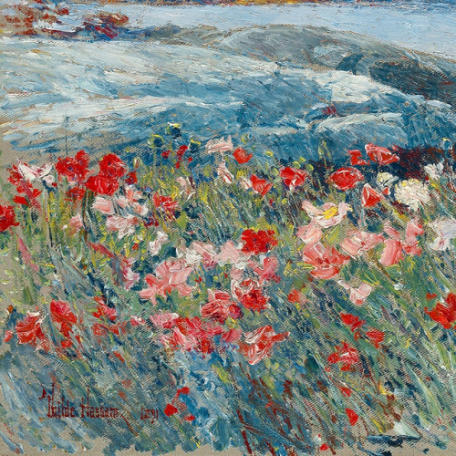 Childe Hassam   Poppies, Isles of Shoals (detail)