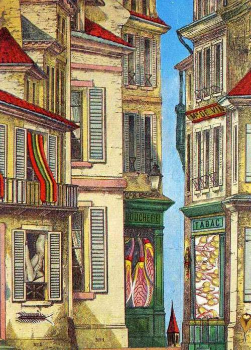 Commonplaces – Where to Unwind the Spool, Max Ernst