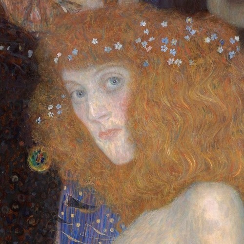 Gustav Klimt  Hope I (detail)