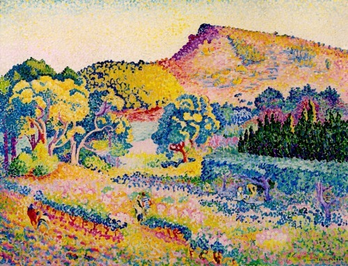 Henri-Edmond Cross     Landscape with Cape
