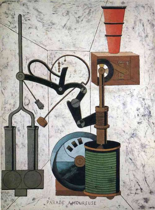 Love Parade, 1917, Francis Picabia