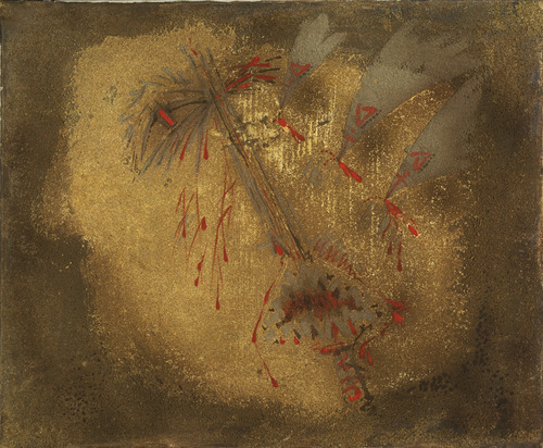 Attacked by birds, Andre masson