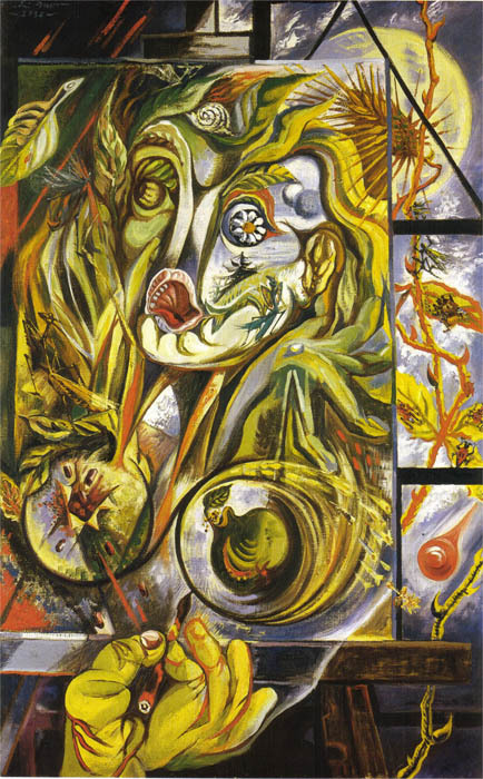 The painter and the time, Andre masson