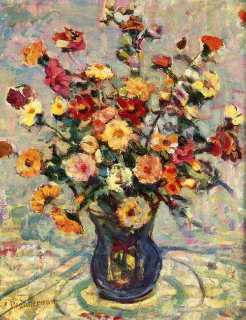 maurice prendergast    Still Life with Flowers