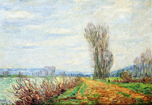 Morning Effect, Banks of the Yonne River, Francis Picabia